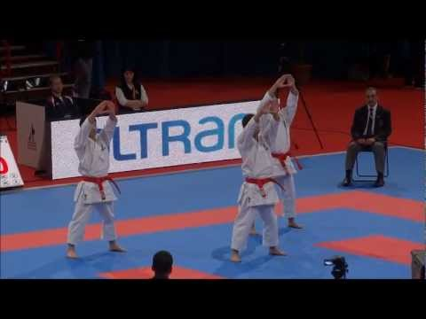 Team Kata KANKU DAI by Japan National Team - 21st WKF World Karate Championships