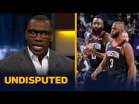 James Harden and Chris Paul cannot coexist on the Rockets — Shannon Sharpe | NBA | UNDISPUTED