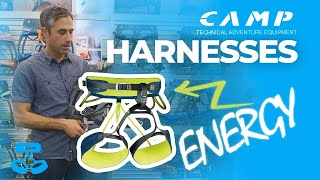 CAMP Energy Series of Climbing Harnesses by WeighMyRack