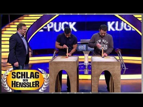 Spiel 3 - Kugel-Puck - Schlag den Henssler