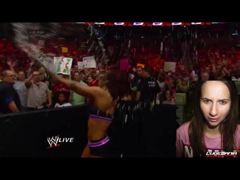 WWE Raw 5/12/14 Paige vs Alicia Fox MEGA Tantrum Live Commentary