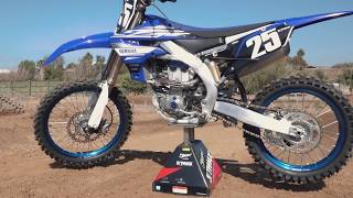 7. First Impression of the 2019 Yamaha YZ250F