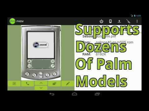 Video of PHEM: Palm Hardware Emulator