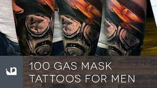 Video 100 Gas Mask Tattoos For Men MP3, 3GP, MP4, WEBM, AVI, FLV Juni 2018