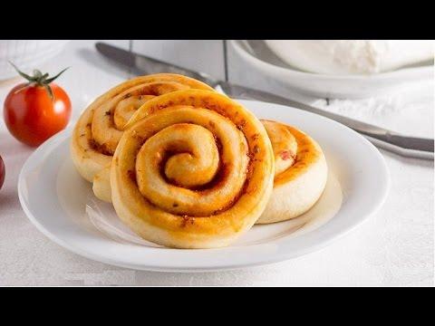 girelle di pan mozzarella - ricetta