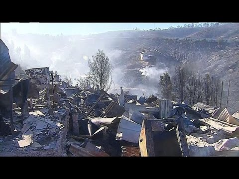 Χιλή: Σοβαρές ζημιές από την πυρκαγιά στο Βαλπαραΐσο