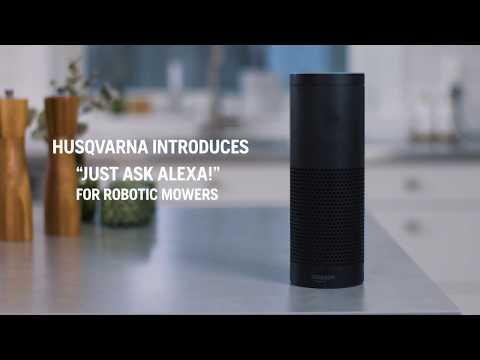 Husqvarna, Automower, Alexa