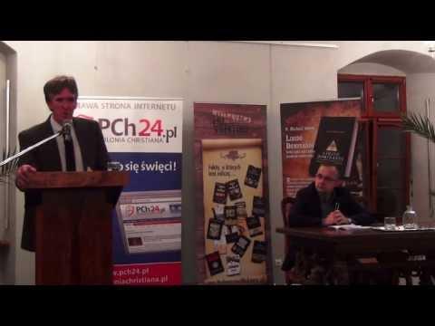 Lewicowy atak pedofili na Kościół - Prof. Michael E. Jones w Poznaniu