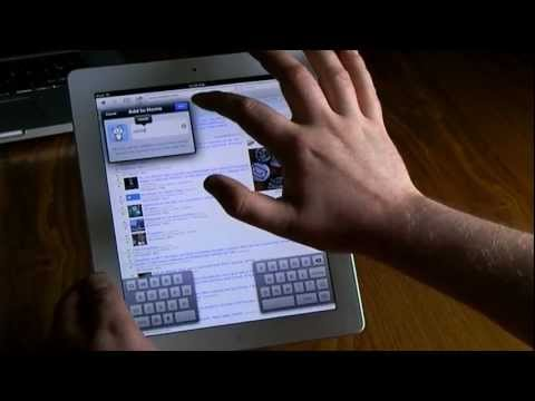 16 New iPad tips 2012
