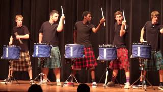 Video THE OFFICIAL Hot Scots drum line - 2011 - Nigel - Talent Show at LHHS MP3, 3GP, MP4, WEBM, AVI, FLV Agustus 2018