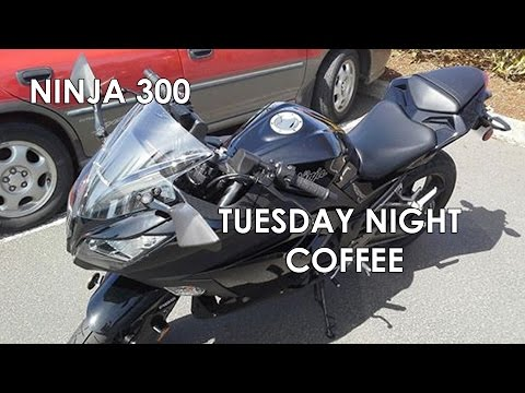 Ninja 300 - Tuesday Night Coffee