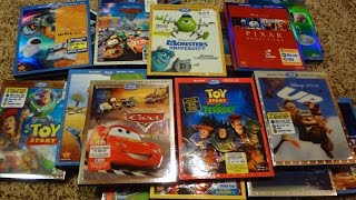 Video My Complete Disney/Pixar Blu-Ray Collection - May 2015 Update MP3, 3GP, MP4, WEBM, AVI, FLV April 2019