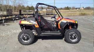 8. 2012 Polaris Ranger RZR S 800 Orange Madness/Black LE at Tommy's Motorsports