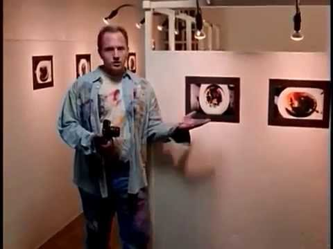 LOUIS CK - Toilet Photography - MTV Early 1990s