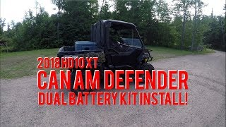 9. 2018 Defender HD10 XT Gets a Dual Battery Kit!
