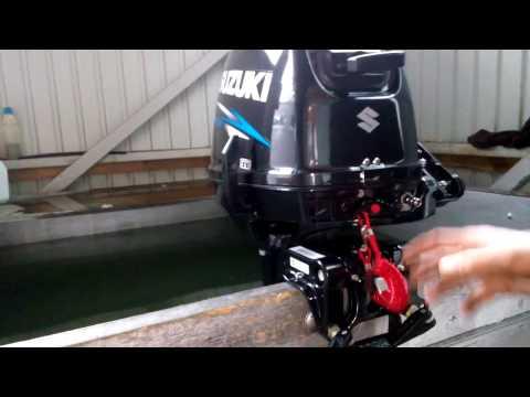 лодочный мотор suzuki 9.9 раздушка
