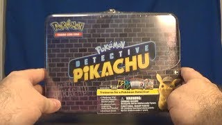 Opening a Pokemon: Detective Pikachu Teasure Box! by SkulShurtugalTCG