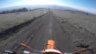 9. First Day with KTM 200 XC-W (and riding a two stroke)