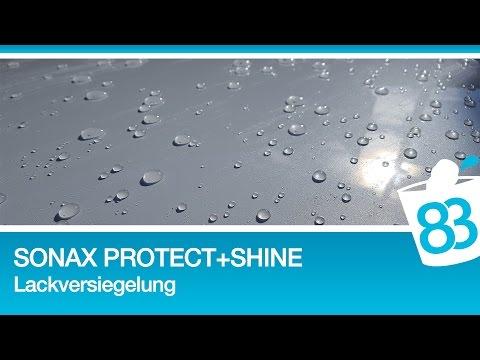 Sonax Xtreme Protect + Shine - Sonax Nano Lackversiegelung Anwendung Neuwagen kneten und versiegeln