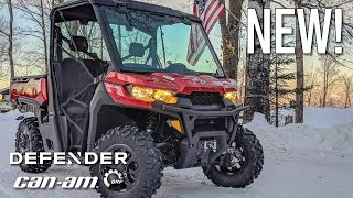 1. BRAND NEW Can-Am Defender XT HD8 // Walk Around and Test Drive