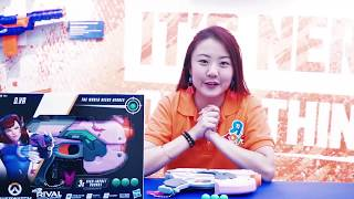 Unboxing the NERF Rival Overwatch D.Va Blaster!