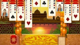 Bombay Solitaire Cards Game YouTube video