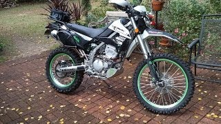6. 2013 Kawasaki KLX250s Walk Around