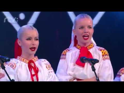 Naše zastúpenie v šou Zem spieva: Vystúpenie FS Dúbravček