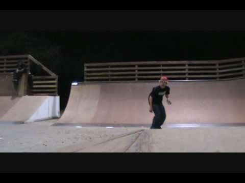 Brandon Fields Skateboarding at Beaufort skatepark