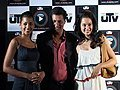 Kangana Ranaut & Mugdha Ghodse At Utvplay.Com Launch