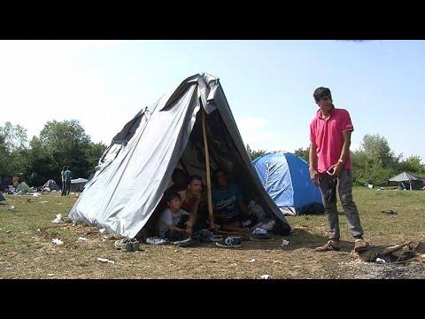 Velika Kladuša (Bosnien und Herzegowina): Nadelöhr au ...