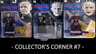 Hellrasier Pinhead Series 1, 2 and 3 NECA Reel Toys - Collector's Corner