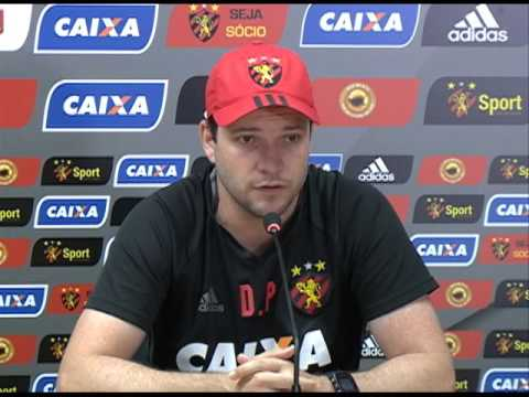 Sport: Daniel Paulista escala os titulares para jogo contra o Sete de Setembro