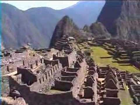 A documentary about Macho Picchu