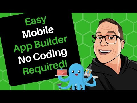 Easy Mobile App Builder No Coding Required