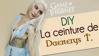 Tutoriel de la ceinture de la robe que Daenerys Targaryen (Game of Thrones) porte lors de son passage à Qarth. Elle a été réalisée à base de lino. Technique ...