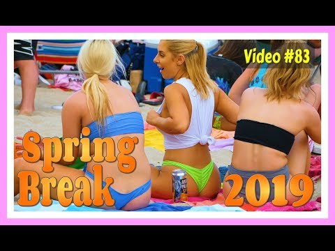 Spring Break 2019 / Fort Lauderdale Beach / Video #83