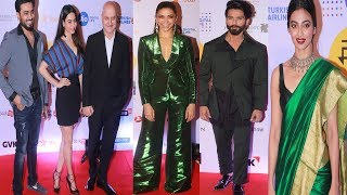 Deepika Padukone | Shahid Kapoor | Celebrities At Jio Mami 19th Mumbai Film Festival | Bollywood