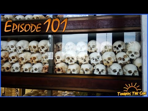 Killing Fields and S-21. Phnom Penh (Cambodia). Towards The Sun by Hitchhiking 101