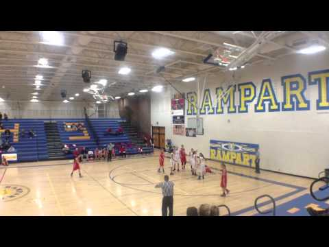 Holly J Brooks #12 Complete game film vs Castle View 2015 (видео)
