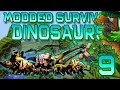 Minecraft: Modded Dinosaur Survival Let's Play w/Mitch! Ep. 9 - FEEDING THE DINOS!