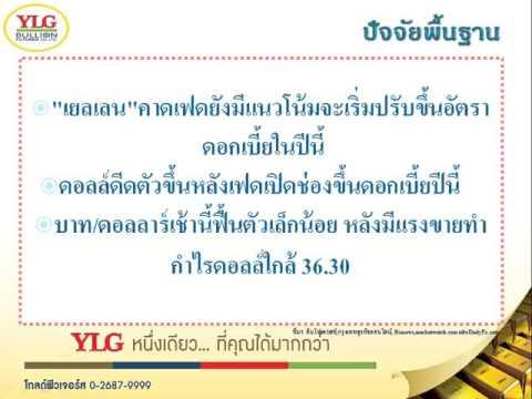 YLG บทวิเคราะห์ราคาทองคำประจำวัน 25-09-15