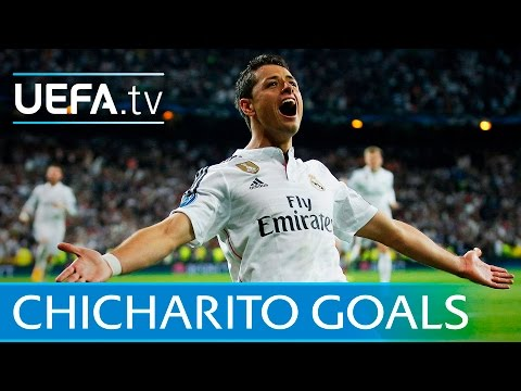 Chicharito - Five great Javier Hernandez goals