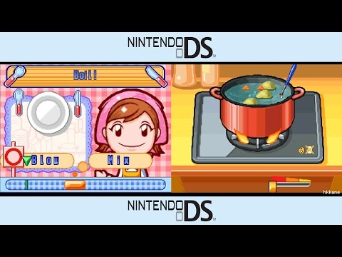 NDS - Cooking Mama Gameplay P.1