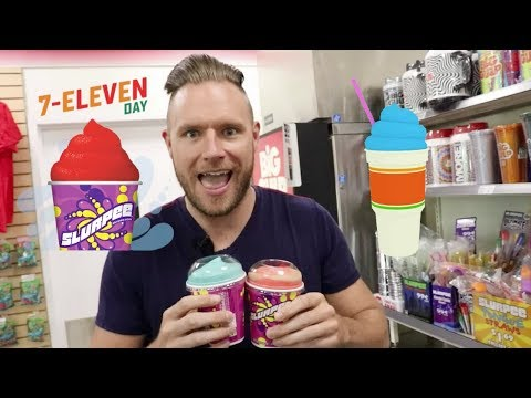 Happy 7-Eleven Day and cheers to free slurpees!
