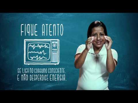 Campanha de Uso Racional de Energia - Libras - TV e Luz - Eletrobras Distribuição Rondônia