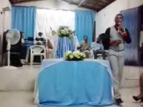 Missionário Claudivan Ministrando na Adb de Itaporanga- 15/09/2013