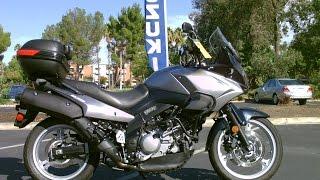 9. Contra Costa Powersports-Used 2009 Suzuki V-Strom 650 V-twin Adventure style motorcycle