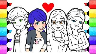 Video Miraculous Ladybug Coloring Pages | How to Draw and Color Ladybug Coloring Book Marinette Alya Chloe MP3, 3GP, MP4, WEBM, AVI, FLV Oktober 2017