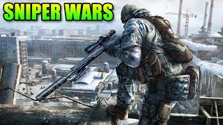 Epic L96A1 Sniper Duel!   Double Vision Battlefield 4 Gameplay